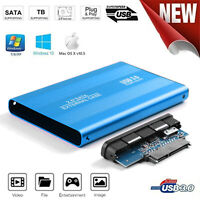 3TB USB 3.0 Hard Disk Enclosure 2.5 inch SATA HDD SSD Mobile Case for Laptop PC