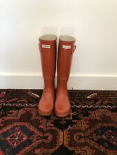 Womens Hunter Boots Size 7 Red