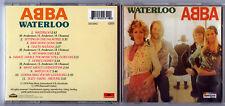 ABBA - WATERLOO - 1974 Album On CD (1993)       *FREE UK POSTAGE*