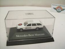 "Mercedes-Benz 300 TE (S124) ""MB-Museum"" 1985, white, Herpa 1:87"