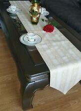 """Classic TABLE BED RUNNER handmade 210×30 cm 83""""×12"""""""