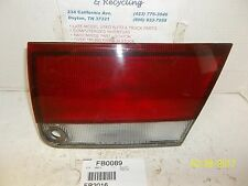93 94 95 96 97 MAZDA 626 RIGHT INNER LID MOUNTED TAIL LIGHT TAIL LAMP OEM