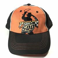 NWT INDIANA JONES At The INDIANAPOLIS 500 INDY One Size AdjUSTABLE BaseBall Hat