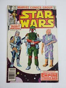 Star Wars #42 Marvel Comics 1980 Boba Fett