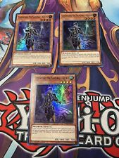Yugioh! Legendary Six Samurai - Kizan SPWA x3 Playset Super Rare 1st Edition NM