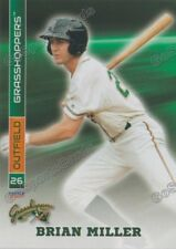 2017 Greensboro Grasshoppers Brian Miller RC Rookie Miami Marlins