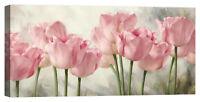 Quadro moderno fiori floreale Stampa su tela Canvas effetto dipinto