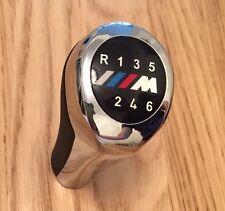 Chrome M 6 Speed Gear Shift Knob For 1 3 4 5 6 Series E46 E65 E81 E87 E90 M3 BMW