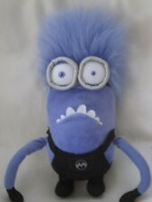 """DESPICABLE ME PURPLE 12"""" TWO EYED MINION SOFT PLUSH TOY DISPICABLE"""