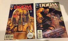 Lot of 6 Doom Patrol DC Comic 2001-2002 #1, 2,4,5,, 2004-#1,2 comics VF++/NM