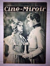 CINE MIROIR N°335 4 SEPT 1931 COUV JEAN WEBER - SIMONE VAUDRY
