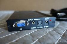 StarTech VGA to HDMI Converter VGA2HDMIPRO No Power Supply