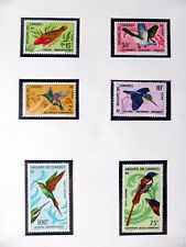 COMOROS 1967 Birds U/M NB3549