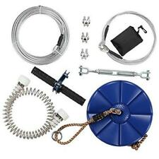 iZipline 95 foot Zip line Kit with Seat and Stainless Steel Spring Brake
