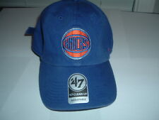 NWT 47 CLEAN UP NEW YORK KNICKS BLUE ORANGE DAD CAP STRAPBACK NBA NYC BIG APPLE