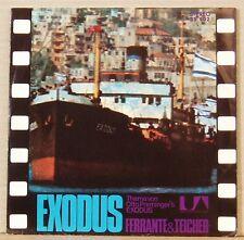 "7"" Ferrante & Teicher Esodo/One Eyed Jacks Otto Preminger colonna sonora UA"