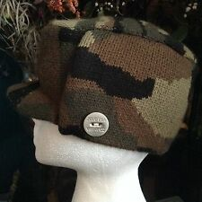 ZCUD USA Army Camouflage  Hat One Size 100% Acrylic