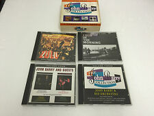JOHN BARRY FOUR IN THE MORNING ZULU + OTHERS RARE VOLUMES 4 CD SET 5023610441822