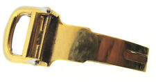 Pre-Owned  Cartier 12mm Deployment Clasp -Gold Plated Stainless Steel