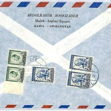 CS159 Afghanistan 1950s Kabul Cover Commercial Air Mail {samwells-covers}