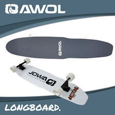 AWOL COMPLETE LONGBOARD SKATEBOARD KIT 6 / SETUP - DECK, TRUCKS, WHEELS (SKATE)