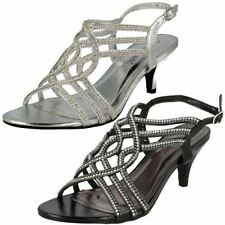 Party Slingback Synthetic Heels for Women