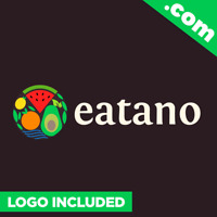 Eatano.com is a cool domain for sale! Godaddy PREMIUM Brandable One Word FOOD