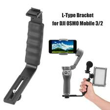 Dual Cold Shoe Mounts Extension Bracket Light Mic Stand for DJI OSMO Mobile 3 2