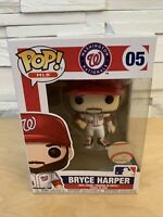 Funko Pop! Baseball MLB - Bryce Harper #05 Washington Nationals (w/ Protector)