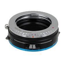 Fotodiox Objektiv- Shift-Adapter Pro Olympus OM 35mm Linse für Fujifilm X Kamera