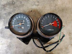 Honda CB550 K0 speedometer and tachometer fully renovated