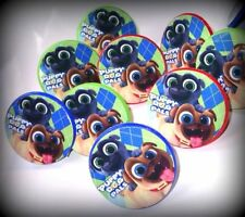 Puppy Dog b -12 Rings-Party Favors Kids Cupcake Loot Birthday Kids- pals