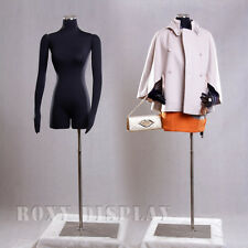 Female Mannequin Manequin Manikin with Flexible Arms Dress Form #F02Sarm+Bs-05