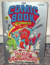 The Comic Book Price Guide No. 16 By R.M. Overstreet Happy Anniversary Marvel