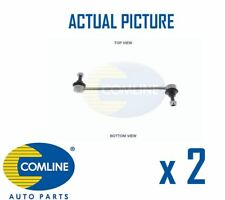 2 x NEW COMLINE FRONT DROP LINK ANTI ROLL BAR PAIR OE QUALITY CSL7000