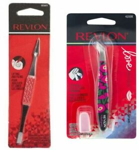 Lot of 2 Revlon Cuticle Nipper and Ingrown Toenail Lift and File Tool Set New