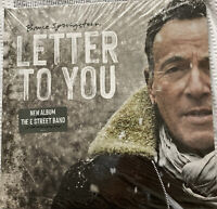 """Bruce Springsteen """"Letter to You"""" Dble Grey Coloured Vinyl LP (New & Sealed)"""