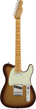 Fender American Ultra Telecaster Electric Guitar, Mocha Burst /case NEW-IN STOCK