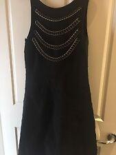 Chelsea Designer  - Ladies Mid Calf Length Black Dress - Size L - RRP $379