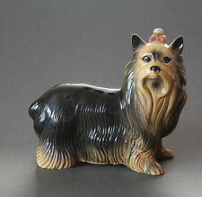 Vintage Coopercraft Yorkshire Terrier Yorkie Figurine Collectible