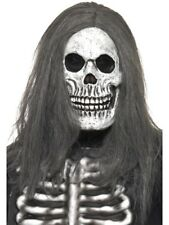 Esqueleto Máscara con Peluca Zombie Disfraz de Halloween