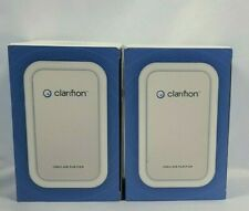 Lot of 2 Clarifion Air Purfier Ionizer Filterless Mobile Removes Germs Bacteria