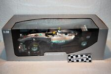 Mercedes GP F1 Team Coche a escala 2011 Rosberg Minichamps 1:18