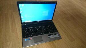 Pc portable Acer Aspire 7745g ordinateur 17 pouces