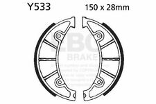 FIT YAMAHA YW 125 (BWs 125/1CE1) 10>13 EBC Plain Shoe Rear Left