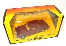 1984 Corgi Toys 279 Rolls Royce Corniche Collectible Model Car
