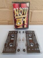 Now That's What I Call Music Vol 51 (2002) Double Cassette Tape - Tested