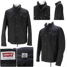 Levi's Strauss & Co. Men's Sz XL Large Full Zip Collared Jacket - Black -