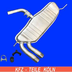 Seat - Altea/Toledo III / Leon - 2.0 TDI/2.0 TDI 16V - ENDSCHALLDÄMPFER