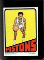 1972-73 TOPPS #35 DAVE BING NMMT PISTONS HOF  *XR18671